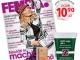 Promo pentru revista FEMEIA. ~~ Cadou: un produs cosmetic la alegere ~~ Octombrie 2013