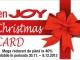 Cardul de reduceri enJOY Christmas Card ~~ 30 Noiembrie - 8 Decembrie 2013