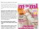 Promo pentru revista MAMI, editia Ianuarie 2014