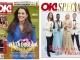 OK! Magazine Romania ~~ Coperta: Kate Middleton ~~ 6 Martie 2014