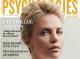 Psychologies Romania ~~ Coperta: Charlize Theron ~~ August 2014