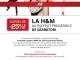 Oferta H&M de reducere la abonarea la newsletter
