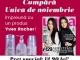 Promo pentru inserturile Yves Rocher din editia de Noiembrie 2015 a revistei Unica ~~ Pret pachet: 13 lei