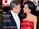 OK! Magazine Romania ~~ Coperta: George si Amal Clooney ~~ VIP Files: Uma Thurman ~~ 13 Octombrie 2016 ~~ Pret: 5 lei
