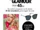 Oferta de abonament pe 6 luni la revista Glamour Romania + voucher OJO Sunglasses ~~ Pret: 45 lei