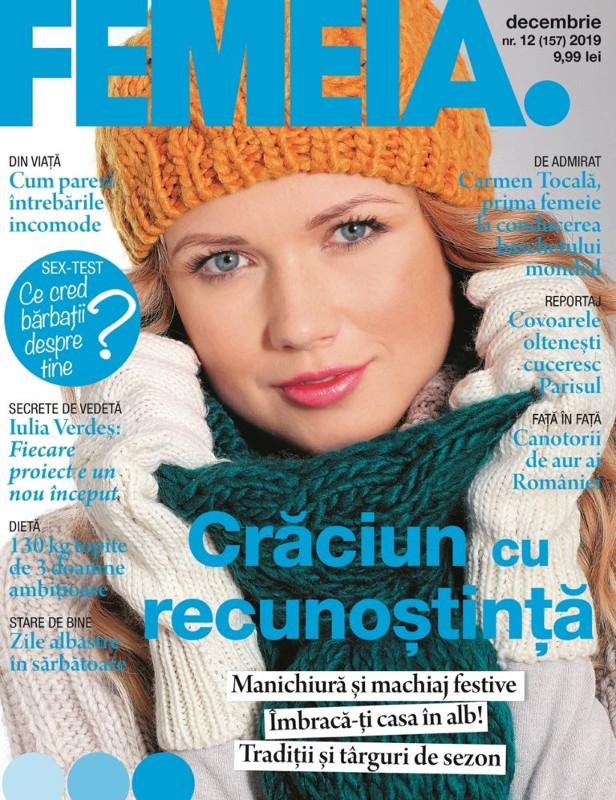 Revista FEMEIA. ~~ Craciun cu recunostinta ~~ Decembrie 2019