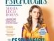 Psychologies Magazine Romania ~~ Coperta: LUCIA MARIA HOHAN ~~ Martie-Aprilie 2021