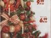 Brad de Craciun impodobit cu ornamente rosii ~~ idee propusa de magazinul Kika ~~ Decembrie 2010