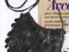 Poseta neagra cu franjuri din paiete, pentru seara de Revelion
