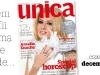 Promo coperta revista Unica, Decembrie 2008 (Coperta: Amalia Enache)