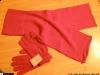 Diva ~~ Manusile si fularul rosii (sunt disponibile si pe alte culori) ~~ 23 Noiembrie 2009