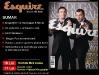 Esquire :: Buzdugan si Morar :: Iulie - August 2009