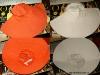 Palaria alba si portocalie de vara de la The One :: Iulie 2009