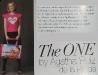 Promo The One pentru cadourile lunilor Mai si Iunie: Tricou roz The One by Agatha Ruiz de la Prada si Geanta de plaja cu imprimeu