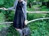 Fotografie din pictorialul Beau Monde, în care au fost folosiţi chiar ciorapii insert ~~ Octombrie 2009