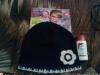 Look! ~~ Caciulita cu neagra cu floare alba si minilotiune Dulgon ~~ Decembrie 2010