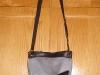 Geanta de zi din catifea gri, cadou la InStyle ~~ Decembrie 2009