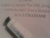The One ~~ Promo cadou crema de maini L'Occitane Cherry Blossom ~~ Martie 2010