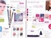 Brosura Yves Rocher: Naturalete, frumusete si Stralucire ~~ produse pentru machiaj (paginile 18-19)