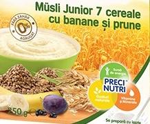Lapte Milupa cu cereale dupa 1 an