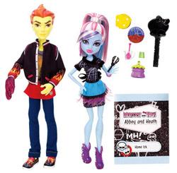Monster High, Colegi de clasa - papusile Abey si Heath