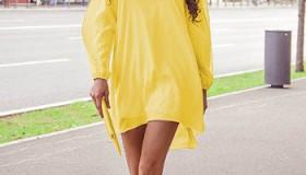 Chic Diva: Rochie galbenă