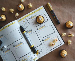 7 zile de jurnal alimentar pe blog